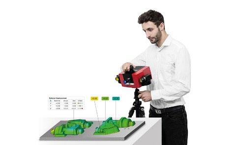 ATOS Compact Scan - Flexible light-weight 3d scanner