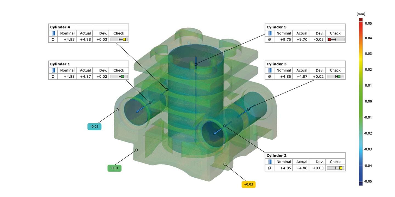 Đo kiểm 3D - Dịch vụ 3D