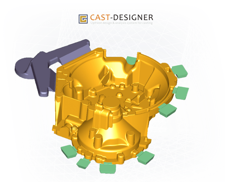 Phần mềm 3D Cast Designer for Casting Business