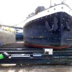 Thiết bị CMM quang học Tritop trong ngành đóng tàu