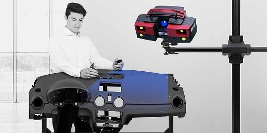 ATOS Triple Scan - Ứng dụng đo lường 3D di động
