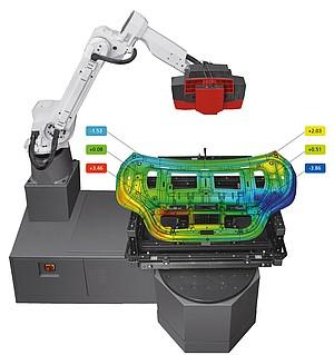 ATOS Triple Scan - Ứng dụng đo lường 3D tự động