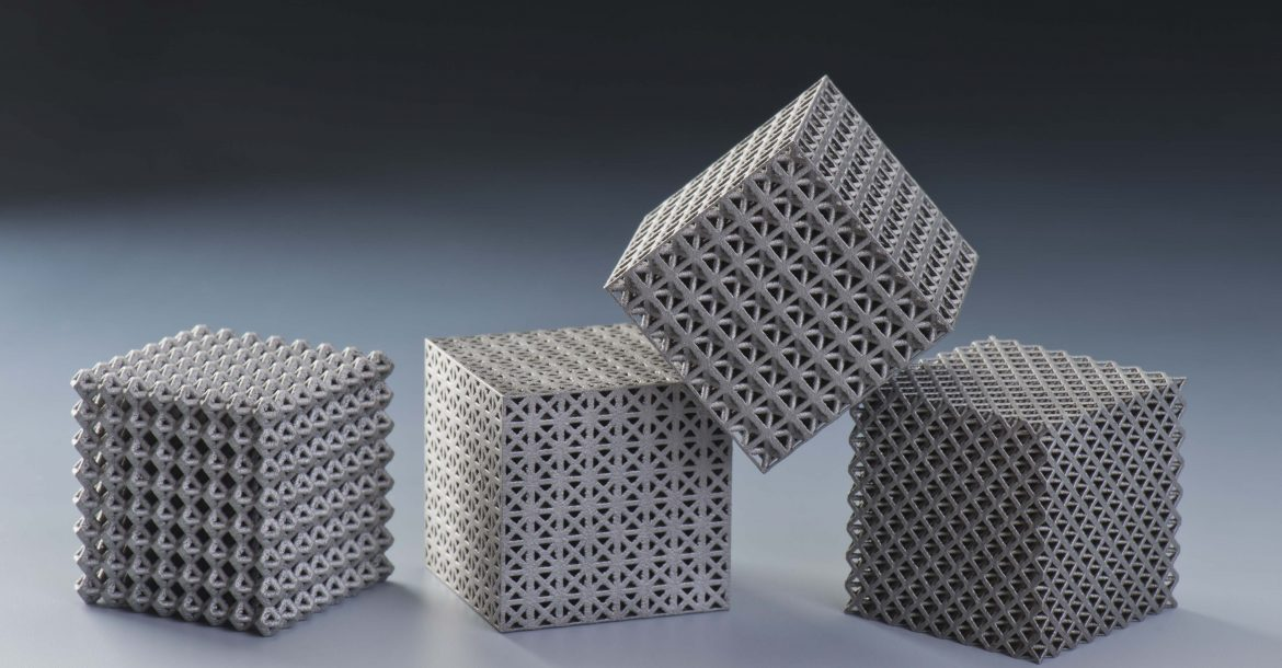 examples of 3d printed lattices 1170x610