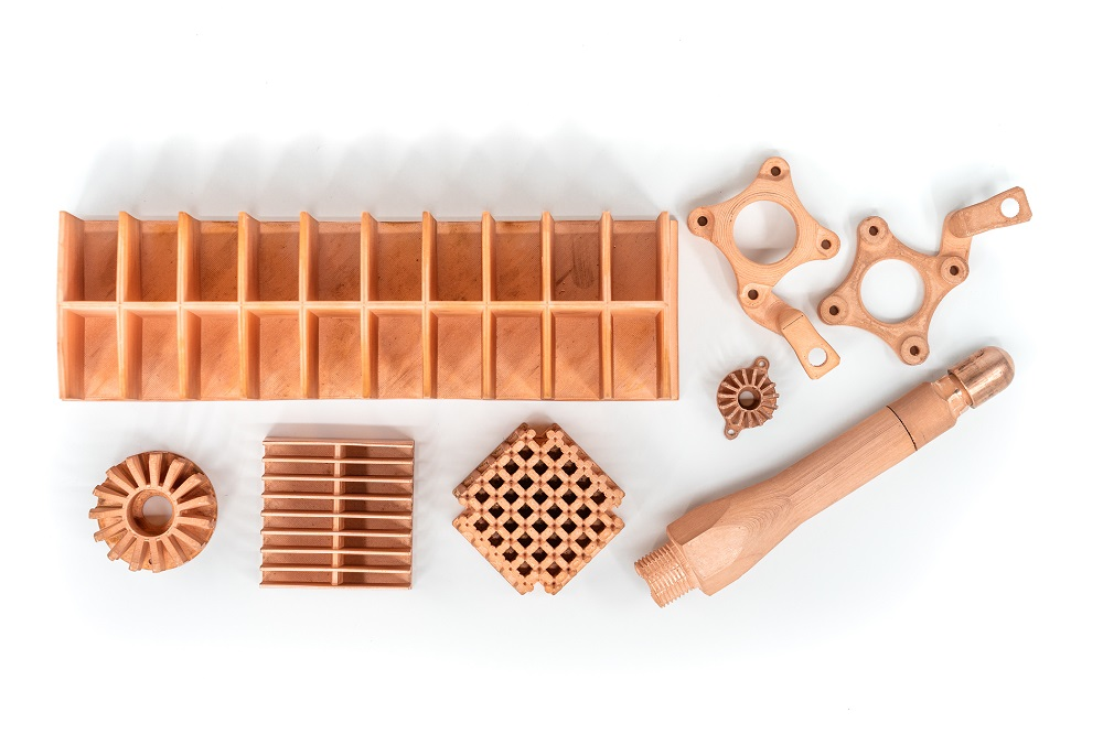 Copper Parts Array 01