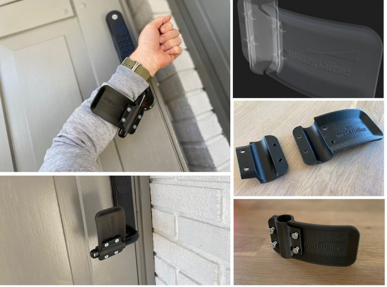 Dụng cụ mở cửa không nắm tay