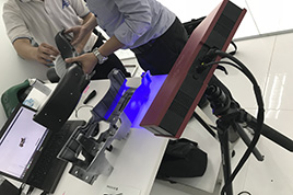 Đo kiểm 3D linh kiện nhựa ô tô