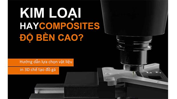 In 3D kim loại hay composites