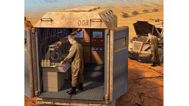 Quân đội Mỹ sử dụng máy in 3D