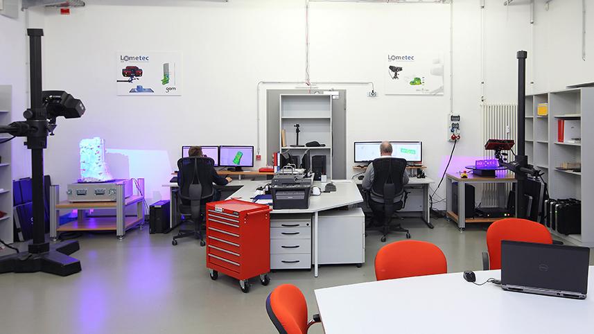 Hệ thống đo quét 3D tại lometec