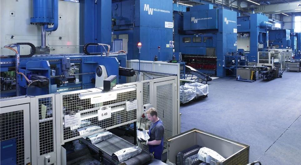 hệ thống đo quang học tại xưởng sản xuất của GEDIA