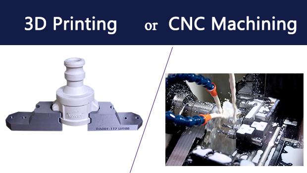 Lựa chọn in 3D hay gia công CNC