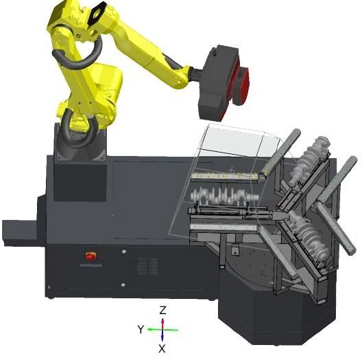 Virtual measuring room (VMR) – Universal three-part assembly