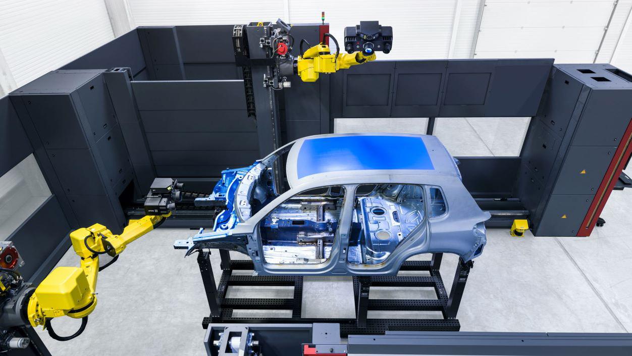 hệ thống đo 3d quang học tự động atos scanbox trong ngành công nghiệp ô tô