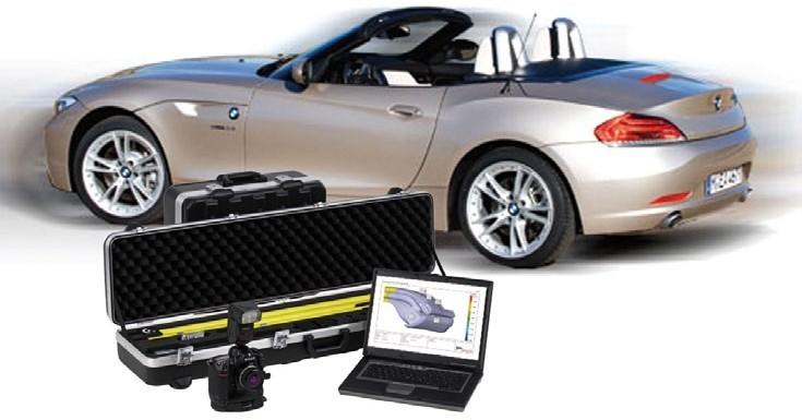 Công nghệ đo tọa độ quang di động 3D được sử dụng tại nhà máy BMW