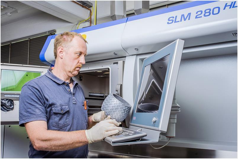 công nghệ in 3D trong ngành hàng không vũ trụ