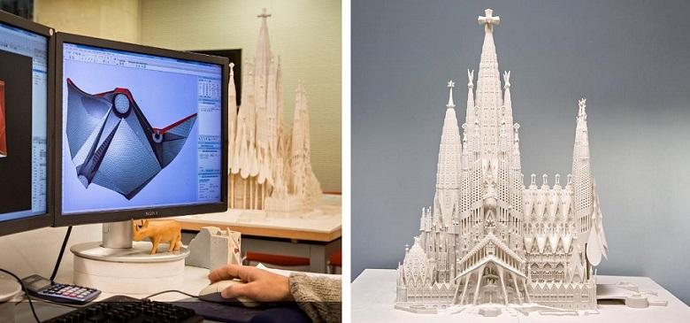 công nghệ in 3d trong ngành kiến trúc