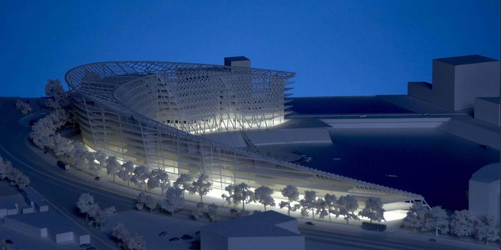 mô hình in 3D kiến trúc