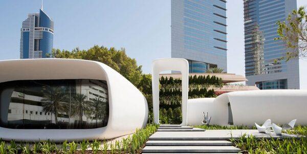 xây nhà bằng công nghệ in 3D