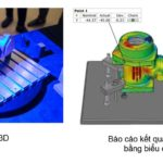Kiểm tra khuôn cơ khí bằng phương pháp đo quét 3D