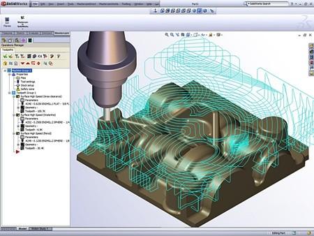 phần mềm gia công CNC mastercam