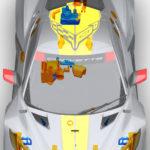 Ứng dụng công nghệ sản xuất bồi đắp vào sản xuất xe đua hiệu suất cao