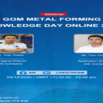 GOM METAL FORMING KNOWLEDGE DAY ONLINE 2020