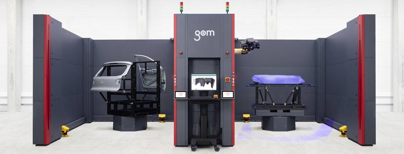 máy quét 3D quang học