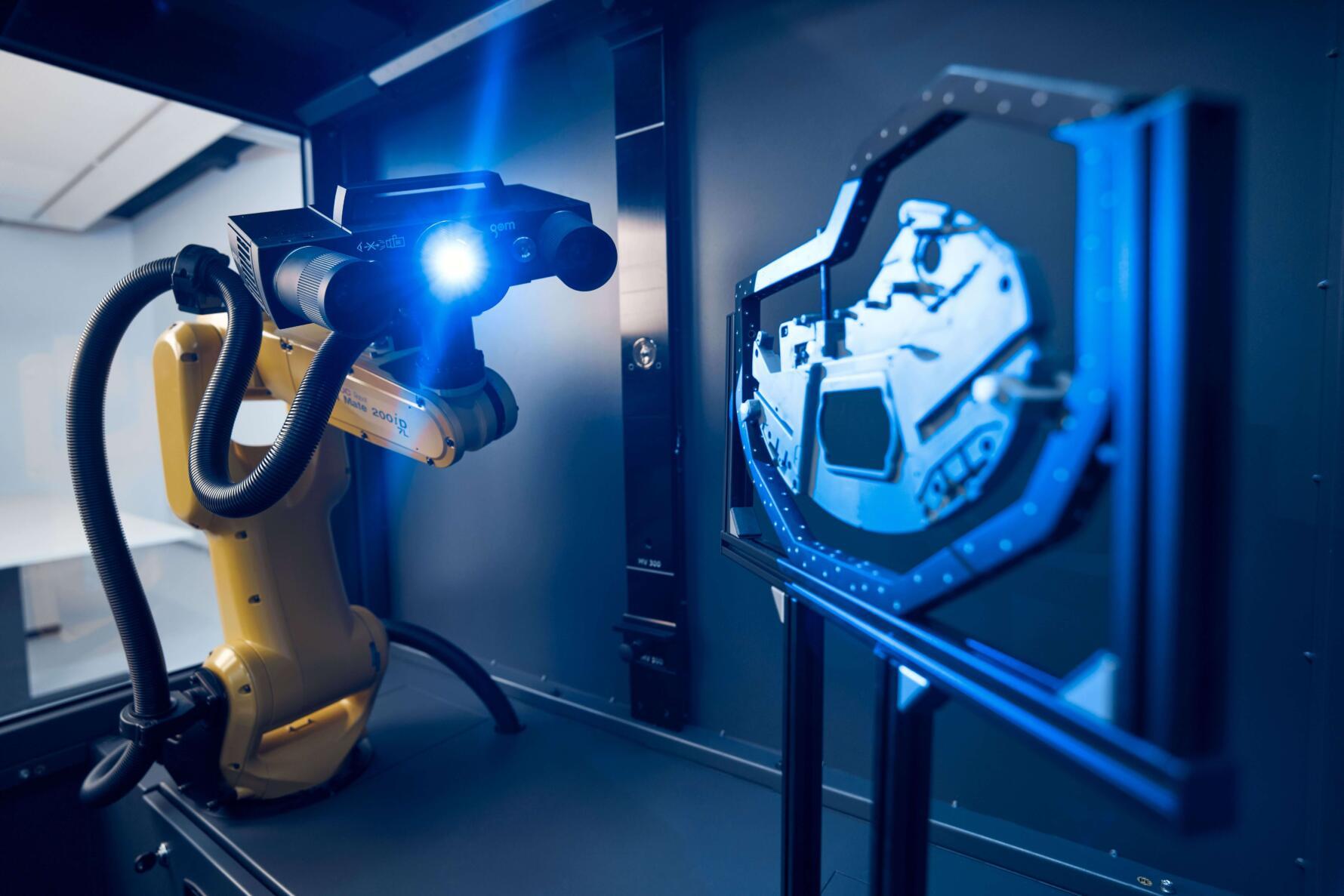 công nghệ đo quét 3D