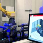 Đo lường trong sản xuất bộ phận robot trong công nghiệp ô tô